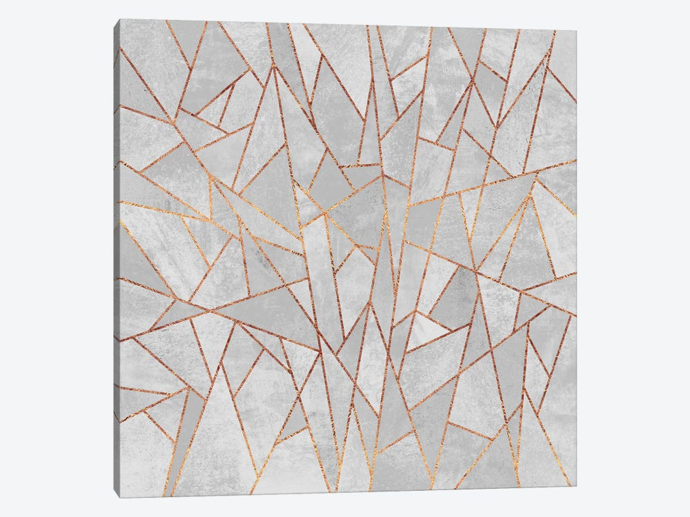 Shattered Concrete by Elisabeth Fredriksson 1-piece Canvas Print