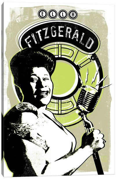 Ella Fitzgerald Canvas Art Print