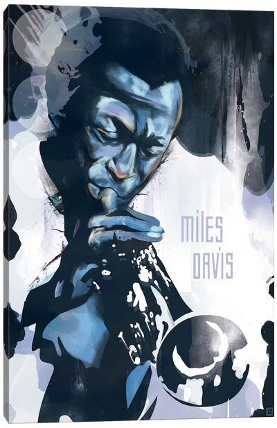 Miles Davis Canvas Art Print