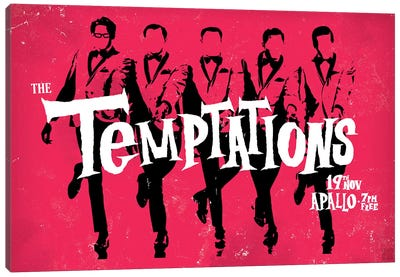 The Temptations Canvas Art Print