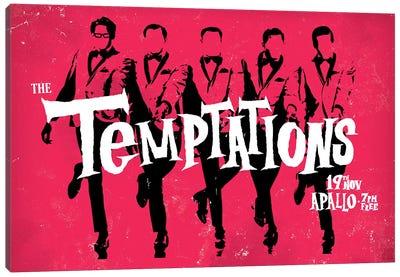 The Temptations Canvas Art Print