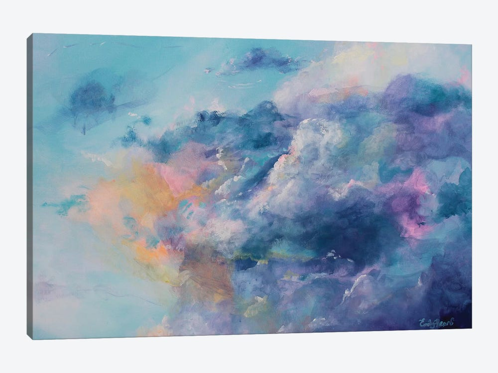 In The Clouds by Emily Louise Heard 1-piece Canvas Art