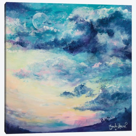 Lunar  Canvas Print #ELH20} by Emily Louise Heard Canvas Art Print