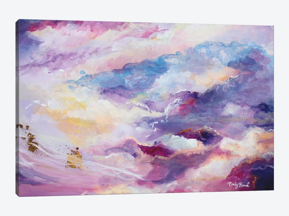 Opulent  by Emily Louise Heard 1-piece Canvas Art