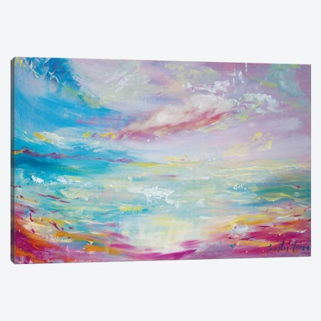 Serene Canvas Print #ELH29} by Emily Louise Heard Canvas Art Print