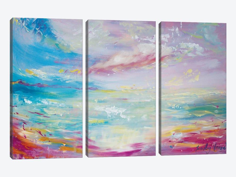 Serene by Emily Louise Heard 3-piece Canvas Print