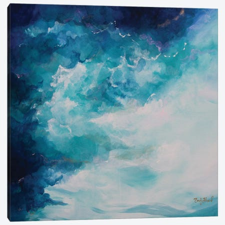 Submerge Canvas Print #ELH31} by Emily Louise Heard Canvas Wall Art