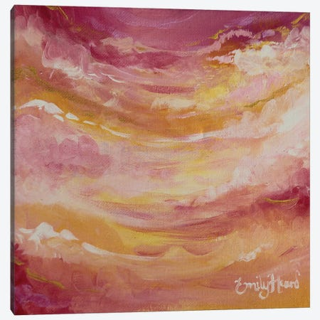 Sun Drenched Canvas Print #ELH32} by Emily Louise Heard Canvas Artwork