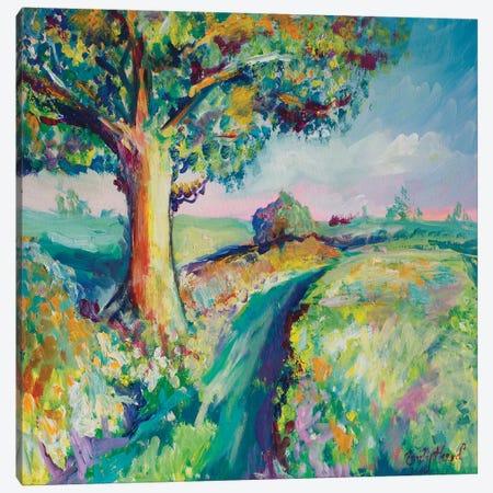 Tranquil Tree I Canvas Print #ELH33} by Emily Louise Heard Canvas Wall Art