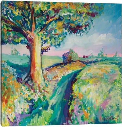 Tranquil Tree I Canvas Art Print