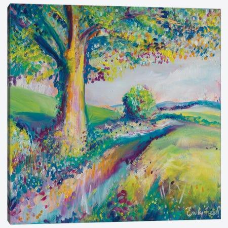 Tranquil Tree II Canvas Print #ELH34} by Emily Louise Heard Art Print