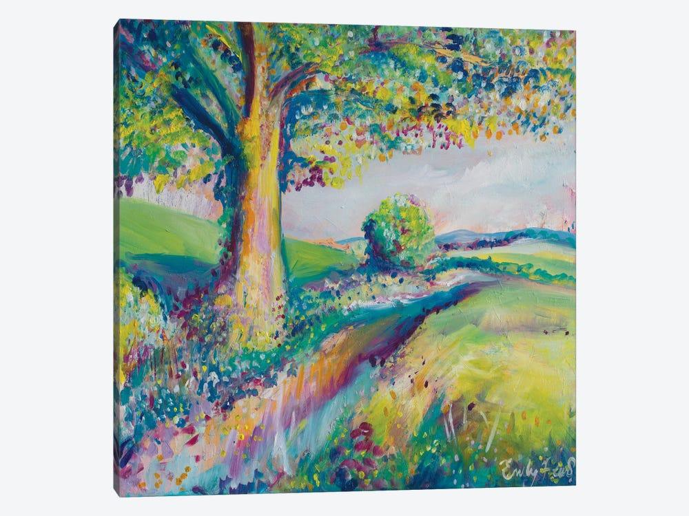 Tranquil Tree II by Emily Louise Heard 1-piece Art Print