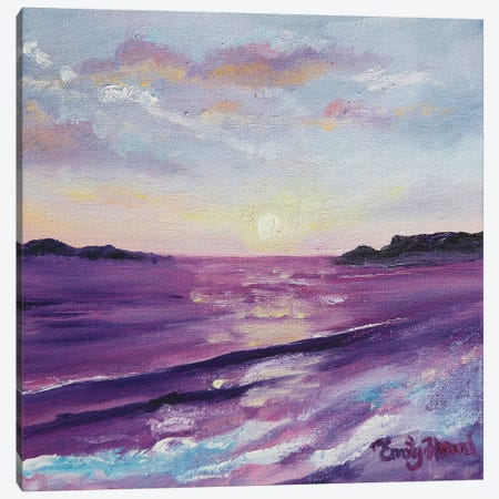 Twilight Canvas Print #ELH35} by Emily Louise Heard Canvas Art Print