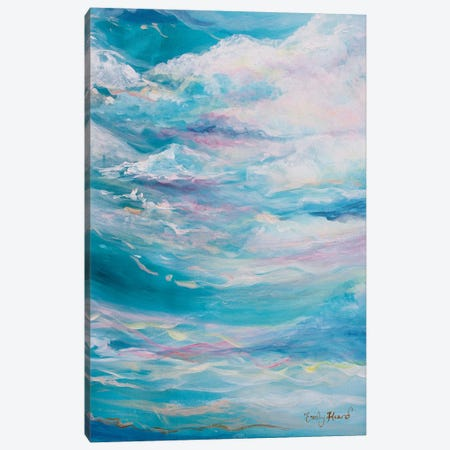 Zing Canvas Print #ELH38} by Emily Louise Heard Canvas Artwork