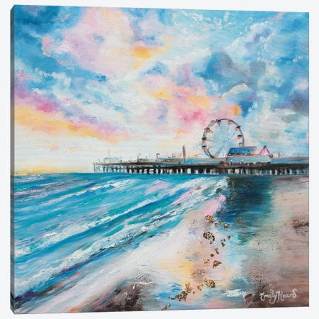 Candy Floss Canvas Print #ELH3} by Emily Louise Heard Art Print