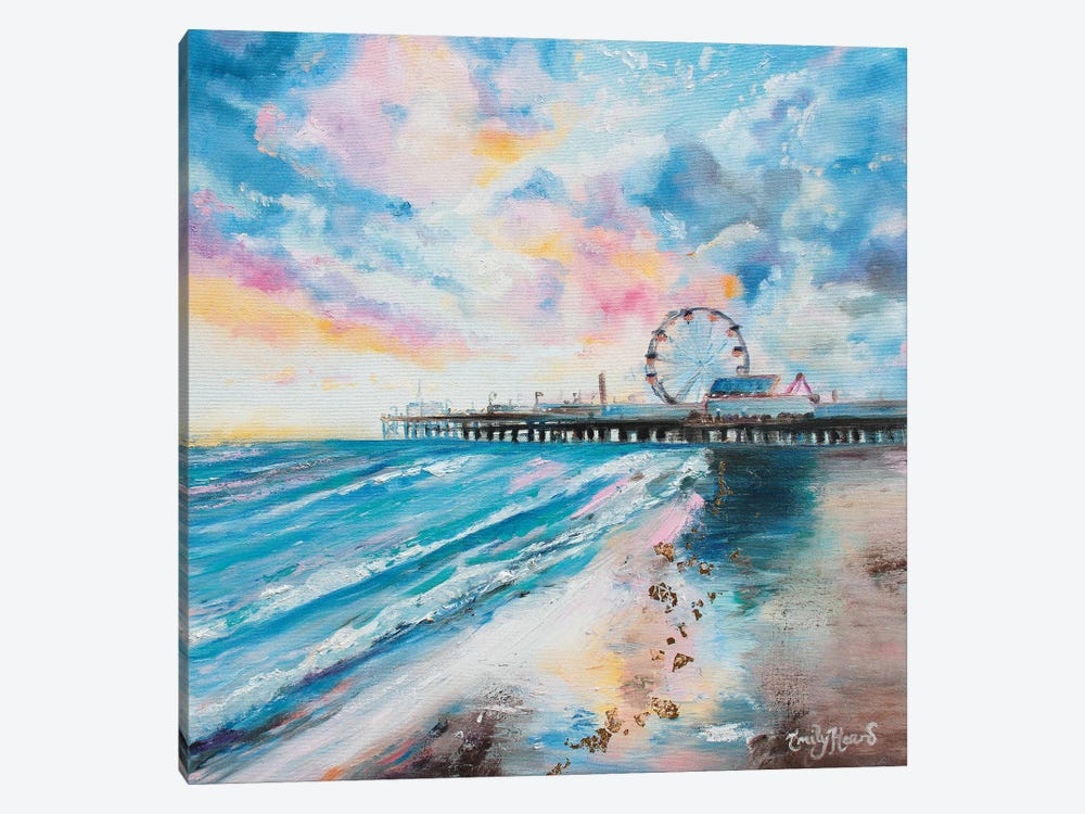 Candy Floss by Emily Louise Heard 1-piece Canvas Wall Art