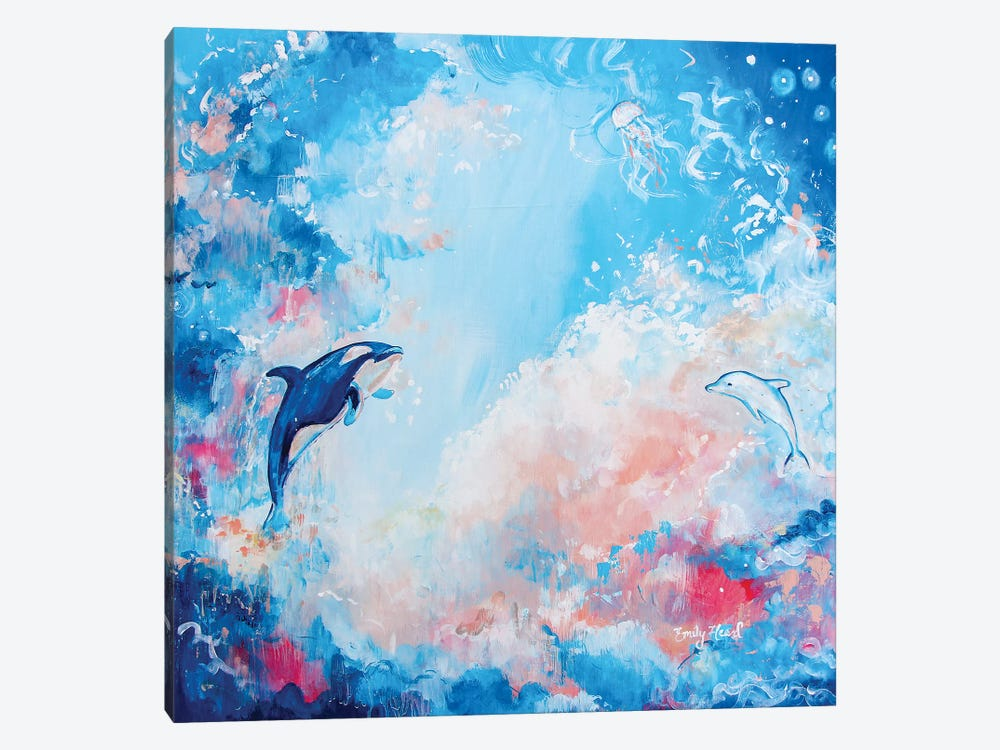 Awakening by Emily Louise Heard 1-piece Canvas Art Print