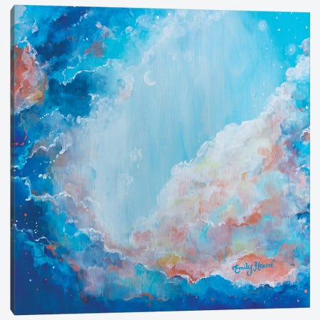 Cloud Nine Canvas Print #ELH44} by Emily Louise Heard Canvas Wall Art