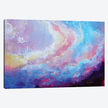 Enfys Canvas Print #ELH45} by Emily Louise Heard Canvas Artwork