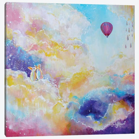 Find Joy Canvas Print #ELH46} by Emily Louise Heard Canvas Art