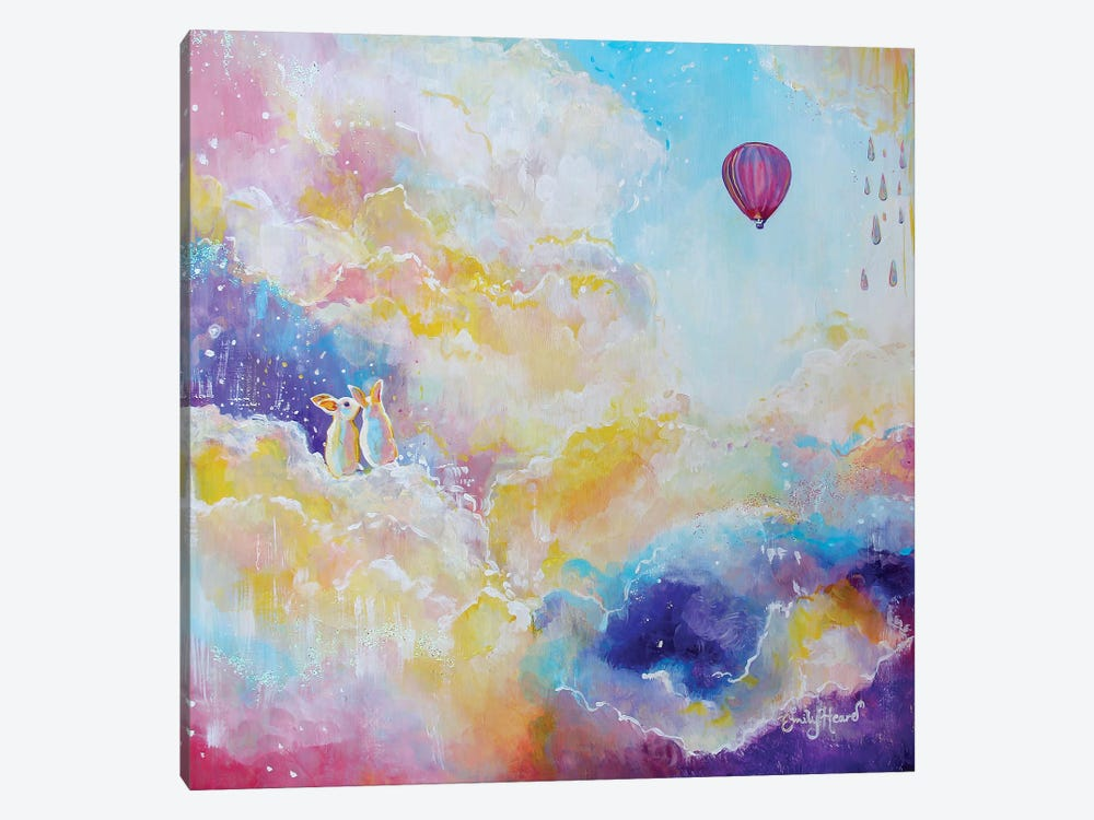 Find Joy by Emily Louise Heard 1-piece Canvas Artwork