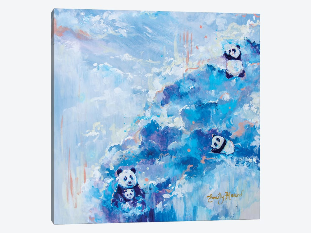 Playtime by Emily Louise Heard 1-piece Canvas Wall Art