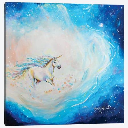 Spirited Canvas Print #ELH49} by Emily Louise Heard Canvas Art Print
