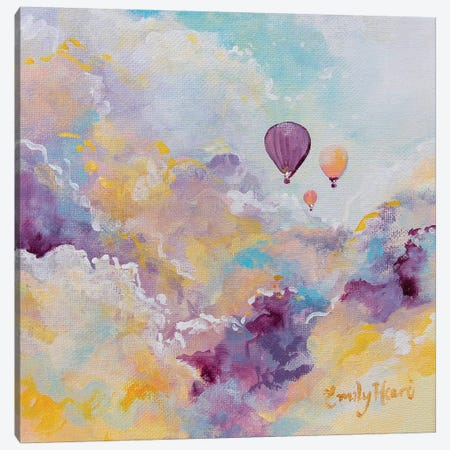 Wanderlust Canvas Print #ELH52} by Emily Louise Heard Canvas Wall Art