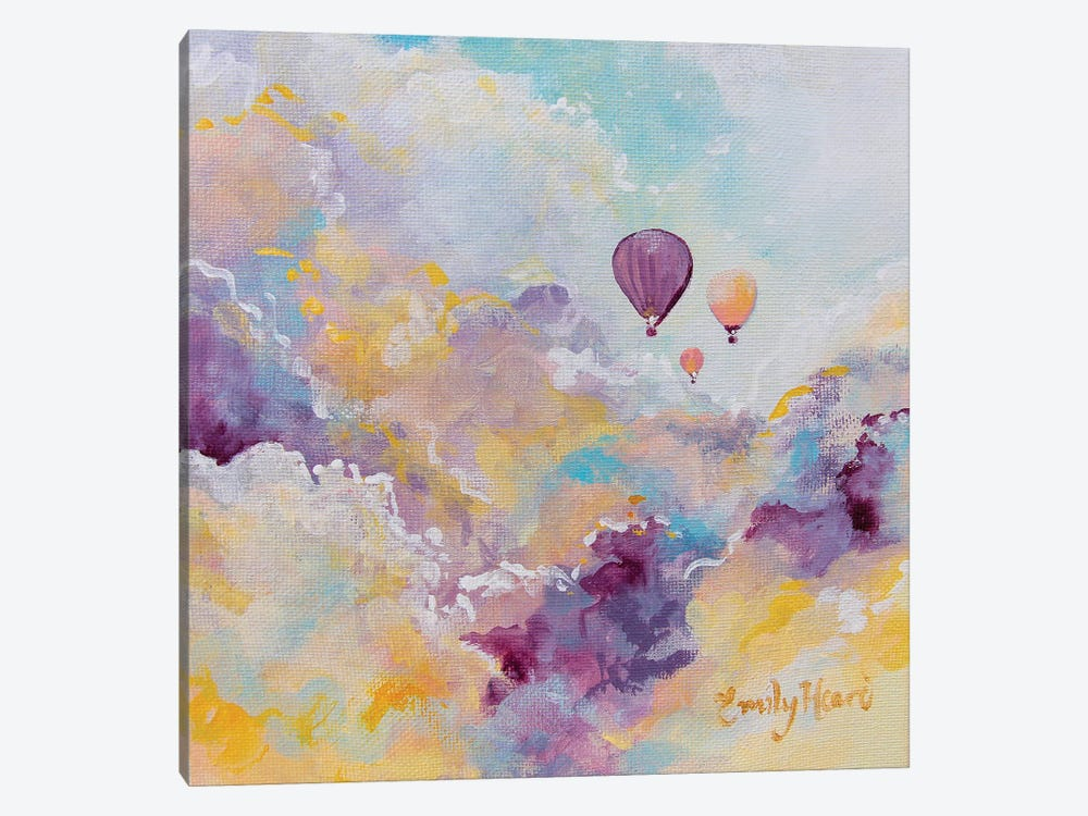 Wanderlust by Emily Louise Heard 1-piece Canvas Print