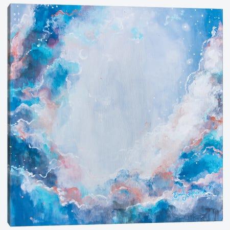 Weightless Canvas Print #ELH53} by Emily Louise Heard Canvas Artwork