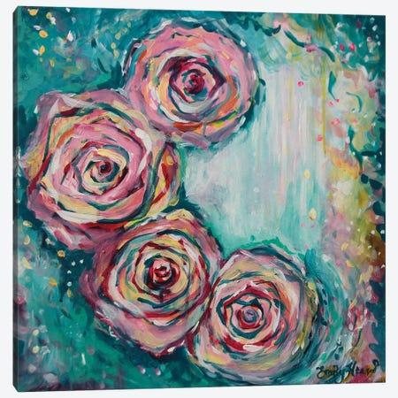 Confetti Canvas Print #ELH5} by Emily Louise Heard Canvas Art