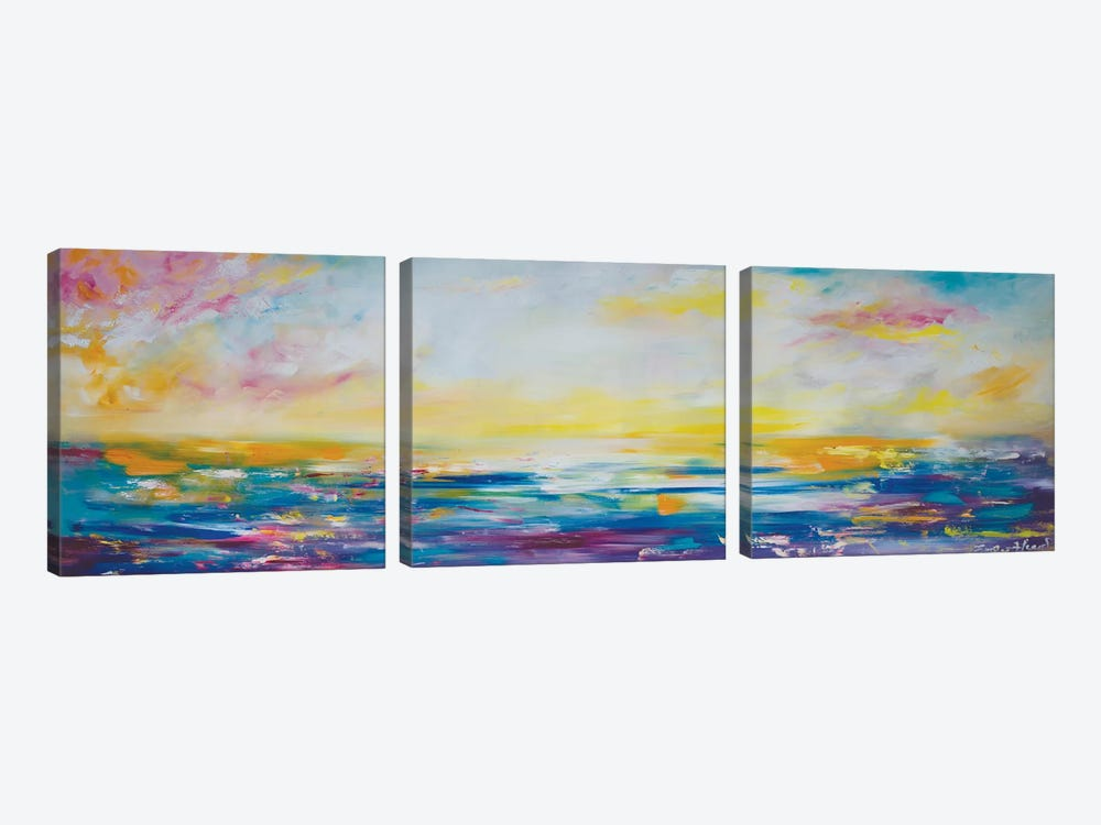 Creative Freedom by Emily Louise Heard 3-piece Canvas Print