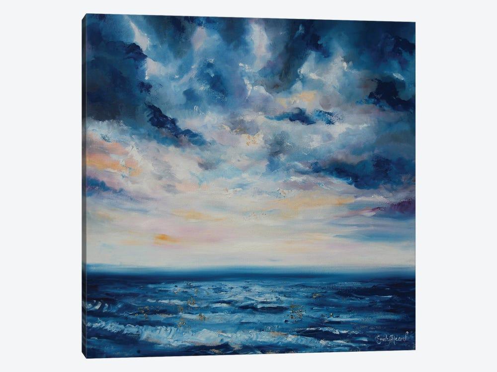 Deep Blue  by Emily Louise Heard 1-piece Canvas Wall Art