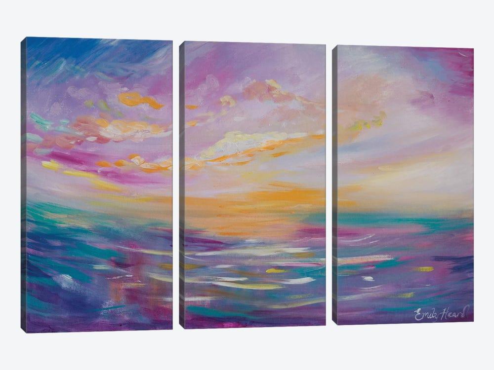 Dreams by Emily Louise Heard 3-piece Canvas Art