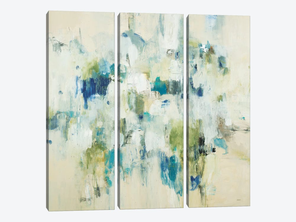 Casual Moments by L Baines 3-piece Canvas Artwork