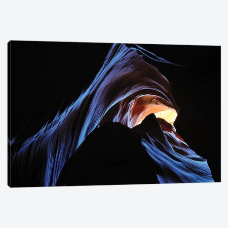 Antelope Canyon, Arizona Canvas Print #ELM171} by Elmar Weiss Canvas Wall Art