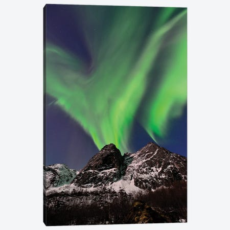 Aurora Eruption 3-Piece Canvas #ELM180} by Elmar Weiss Art Print
