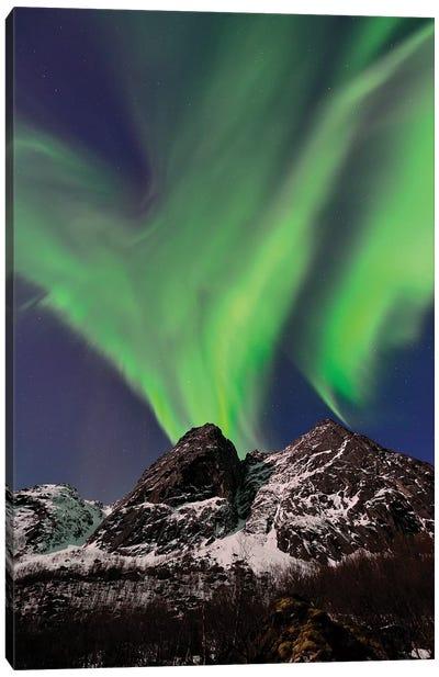 Aurora Eruption Canvas Art Print