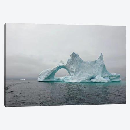 Bizarre Iceberg In Disco Bay - Greenland Canvas Print #ELM194} by Elmar Weiss Art Print
