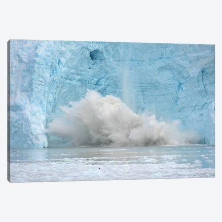 Calving Glacier In Greenland Canvas Print #ELM198} by Elmar Weiss Canvas Artwork