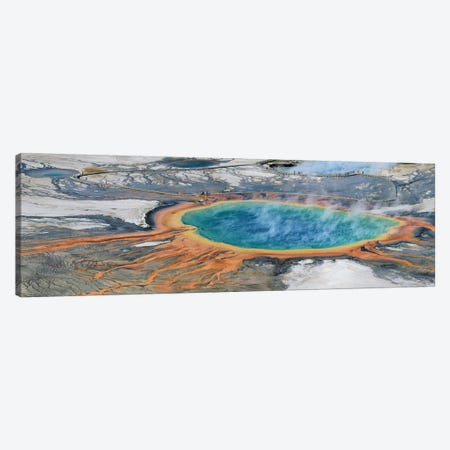 Grand Prismatic Spring - Yellowstone Np Canvas Print #ELM243} by Elmar Weiss Canvas Wall Art