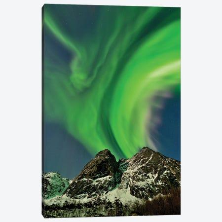 Green Erupotion Canvas Print #ELM244} by Elmar Weiss Canvas Art Print