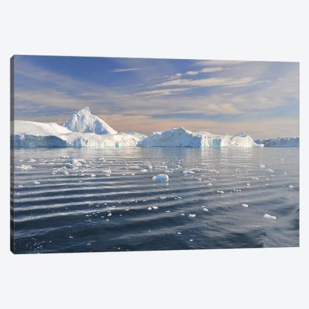 Greenland, Disco Bay Canvas Print #ELM248} by Elmar Weiss Canvas Artwork