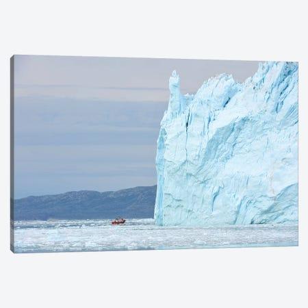 Greenlands Eqi Glacier Canvas Print #ELM249} by Elmar Weiss Canvas Artwork