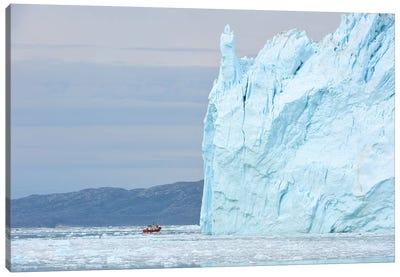 Greenlands Eqi Glacier Canvas Art Print