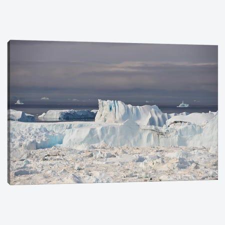 Icefjord In Greenland Canvas Print #ELM271} by Elmar Weiss Canvas Print