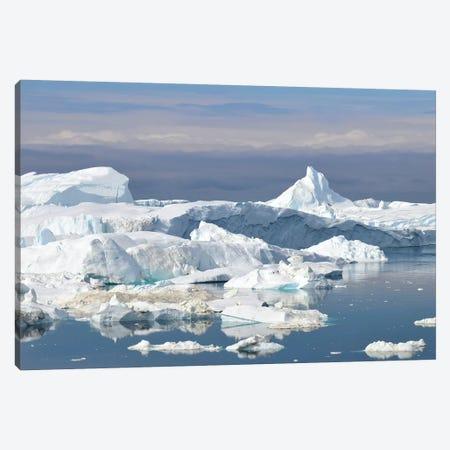 Illulissat Icefjord - Greenland Canvas Print #ELM272} by Elmar Weiss Art Print