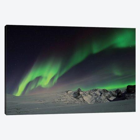 Northern Lights Canvas Print #ELM320} by Elmar Weiss Art Print