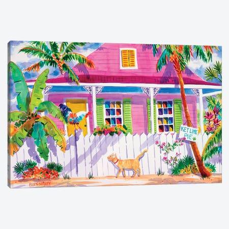 Key West Characters Canvas Print #ELN29} by Ellen Negley Canvas Print