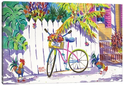 Keywest Cruiser Canvas Art Print